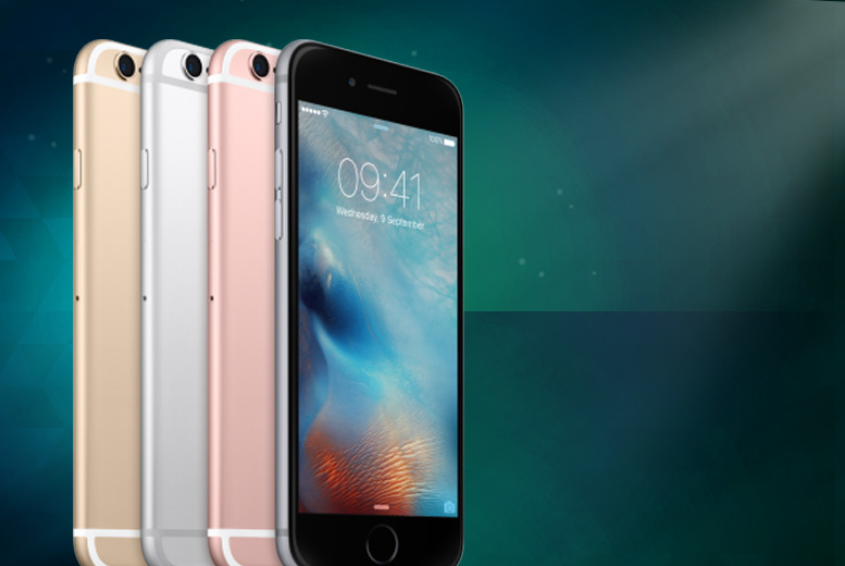 £5 instead of £49.99 (from The Smartphone Company) for an iPhone 6s 16GB when you sign up to a 24-month contract - save 90% + DELIVERY INCLUDED!
