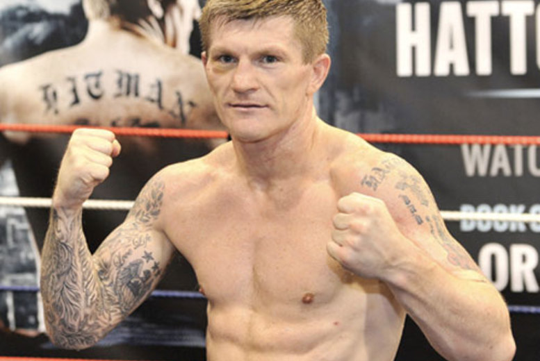 £39 instead of £75 for an evening with Ricky Hatton including a two-course dinner on the 6th December at Village Urban Resort, Nottingham - save 48%