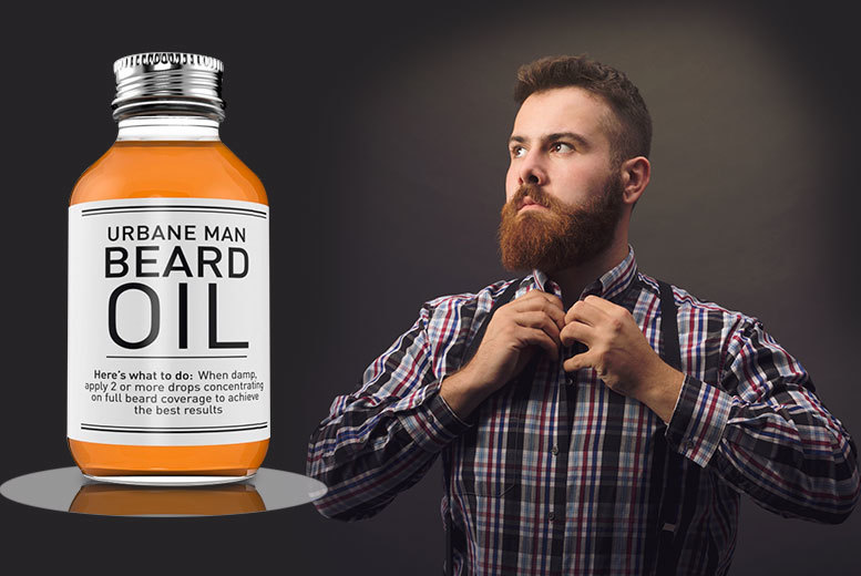 £7.99 instead of £37 (from Blushlook) for a 50ml bottle of conditioning beard oil, or £14.99 for two bottles - save up to 78%