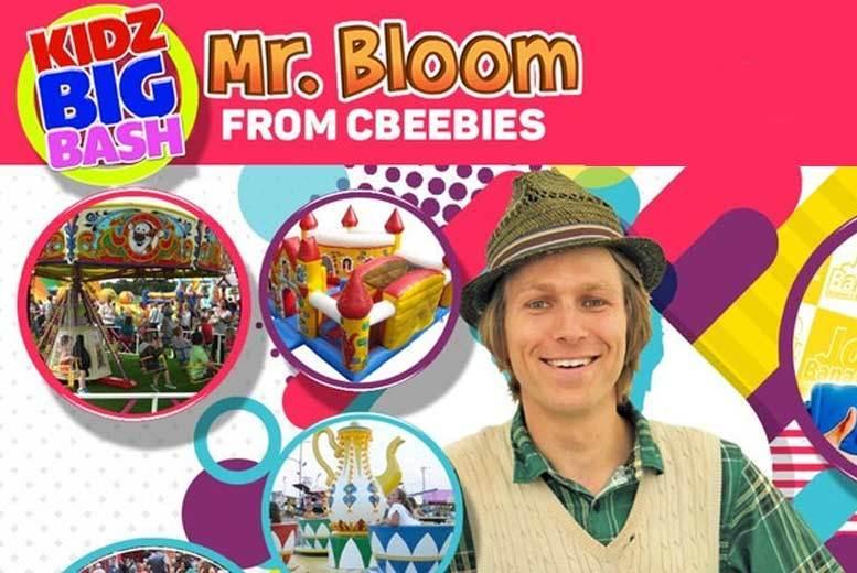 London: 2 Kidz Big Bash Festival Tkts – See CBeebies' Mr Bloom & More! from £14