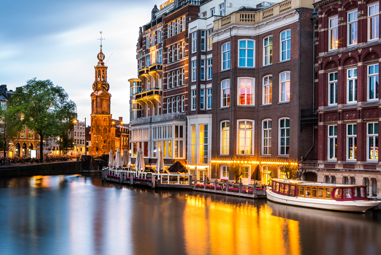 From £89pp (from Tour Center) for a two-night 4* Amsterdam break and a canal cruise - fly from London or Manchester and save up to 38%
