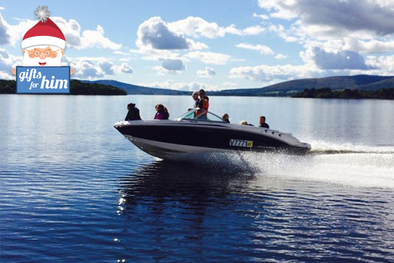 £29 instead of £60 for a 30-minute private luxury speedboat tour for up to seven people, or £69 for one-hour at Loch Lomond Leisure, Luss - sail away and save up to 52%