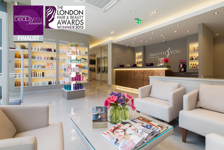 £39 instead of £135 for a three-treatment pamper package at Smooth You Town Spa, Dalston - save 71%