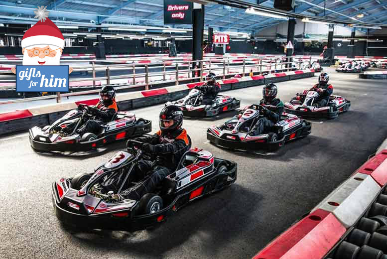 £44 instead of up to £99 for 50 laps of indoor go karting for two with Activity Superstore - choose from ten locations and save up to 56%