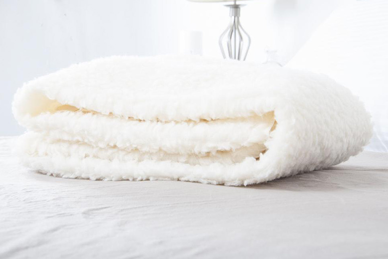 £4.99 (from Bedding Direct) for a single thermal fleece under-sheet blanket, £6.99 for a double, £7.99 for a king size or £8.99 for a super king size - save up to 72%