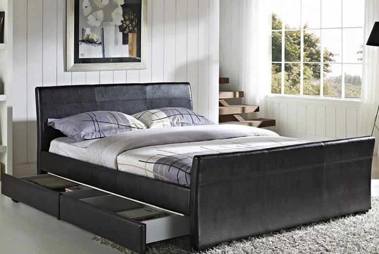 Dresden 4-Drawer Bed