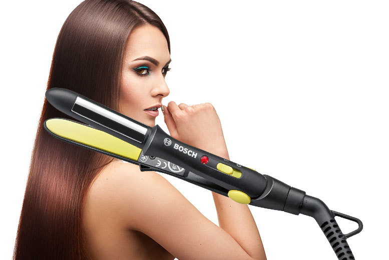 £16 instead of £29.99 for a Bosch hair straightener - style away and save 47%