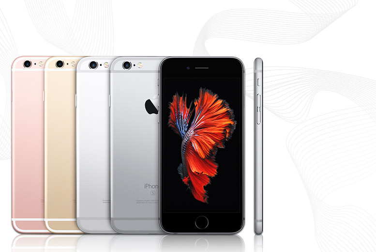 £535 for an Apple iPhone 6 64GB or iPhone 6s 16GB or £615 for an iPhone 6s 64GB from Wowcher Direct - choose from up to 4 colours and save up to 23%