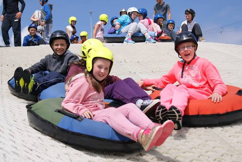 £8 instead of £16 for one hour of tubing for two people at Ski Newmilns, Glasgow - save 50%