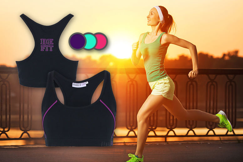 £9.99 instead of £24 (from Branded Ego) for a racerback or low back sports bra - choose from multiple colours and save 58%
