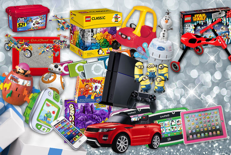 £10 for a Mystery Kids' Deal - products include PlayStation 4, LEGO, Minions, Star Wars Sphero BB droid, a ride-on Range Rover and more!