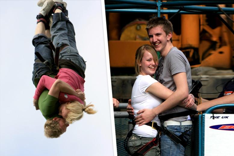 £99 (from Buyagift) for a tandem bungee jump for two at a choice of seven UK locations!