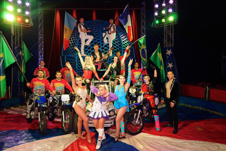 £13 instead of £28 for a grandstand seat at The Great Canadian Circus, Birmingham - choose from dates throughout December and January and save 54%