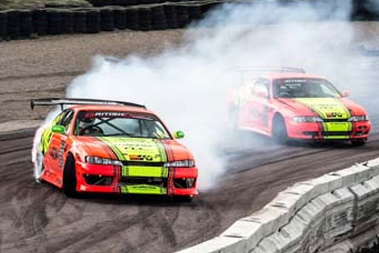 £49 instead of £79 for a one-hour drifting experience with Into The Blue - choose from four locations and save 38%