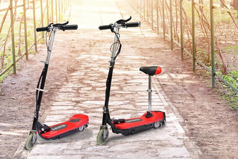 £49.99 instead of £113.99 (from Vida XL) for an electric scooter without a seat, £59.99 for an electric scooter with a seat - save up to 56%