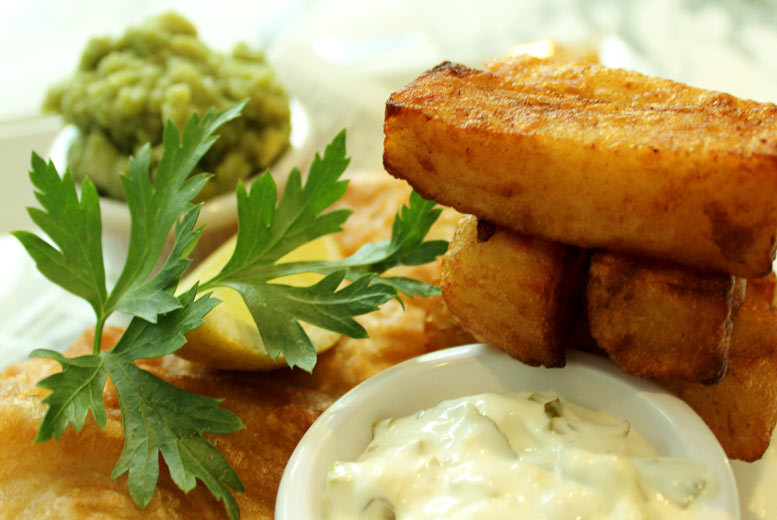 Manchester: Fish & Chips & Bottle of Wine for 2 @ Barca, Manchester from £17