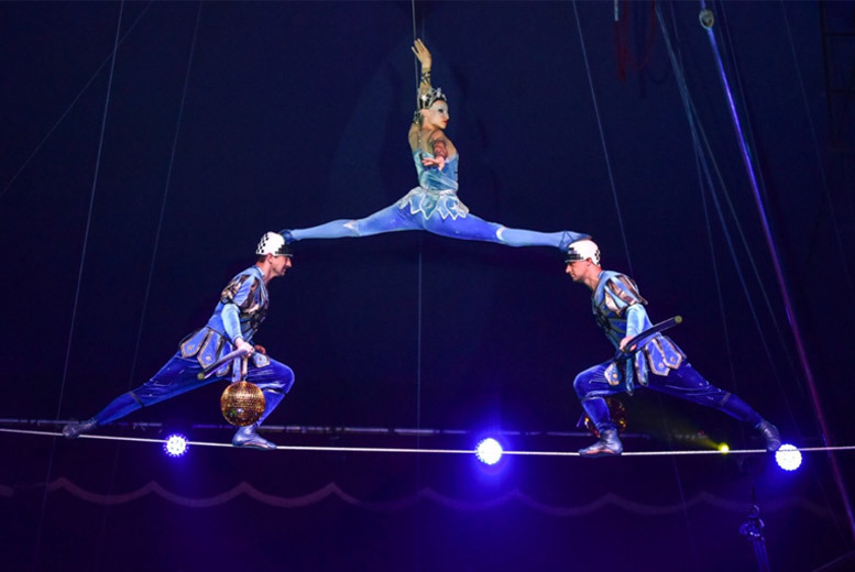 London: Moscow State Circus Tkt @ Eel Brook Common, Fulham from £12.75