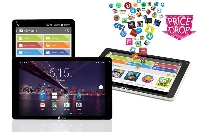 10.1″ 8GB Next-Gen 3G Android Tablet from £79