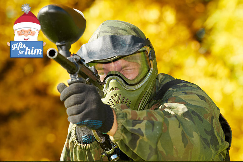 £10 for a paintball day for five people, lunch and 100 paintballs, £18 for 10 people, or £35 for 20 with Mayhem - choose from eight locations and save up to 80%