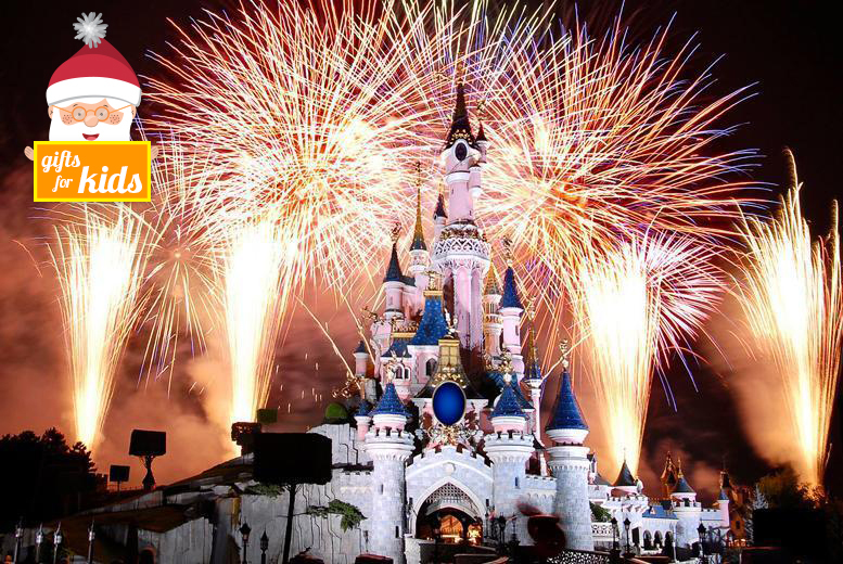 £109 for a New Year's Eve Disneyland® and Walt Disney Studios® day trip with fast track ride entry and return coach from a choice of 14 locations - save 31%