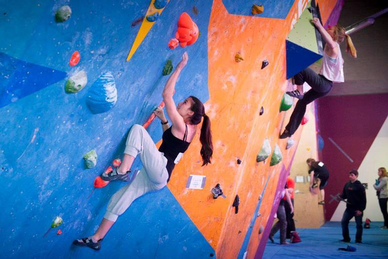 £10 for a beginners' climbing experience including return visit pass and membership for one person, £19 for two people at The Climbing Academy, Glasgow - save up to 68%