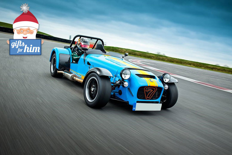 £44 for a thrilling two-hour Caterham 7 driving experience at Heyford Park, Oxford, from Activity Superstore