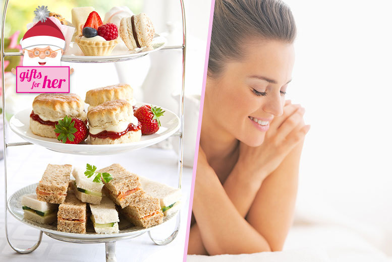 £59 instead of up to £89 for a spa day for two people including afternoon tea and a treatment each at a choice of 11 locations - save up to 34%