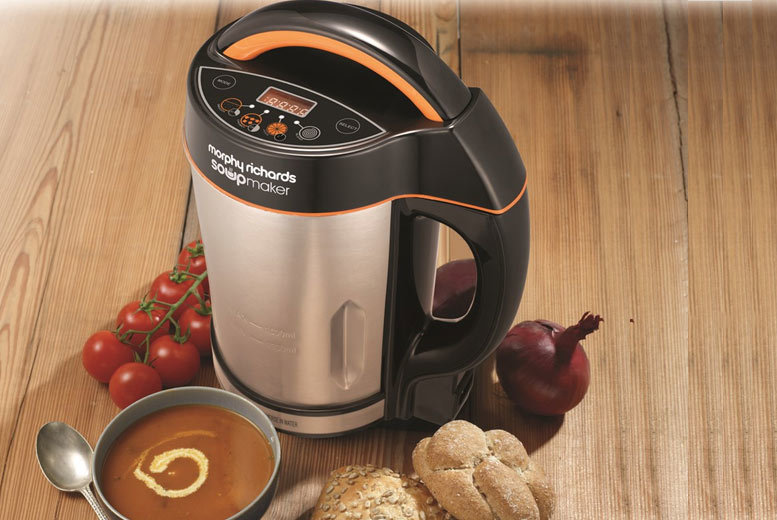 £39.99 instead of £96 for a Morphy Richards soup maker - save 58%