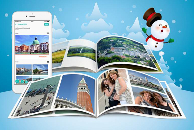 £1 (from SNAPCAM) for a 12-page, 72 image soft cover photobook for your favourite pictures in physical form - save 83%