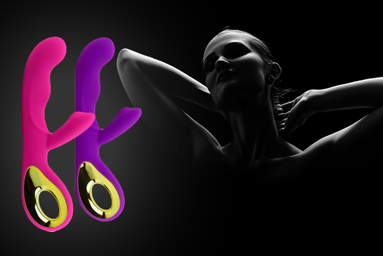 10-Speed Rechargeable 'Rabbit' G-Spot Vibrator from £19.99