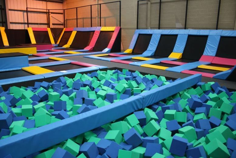 Newcastle: Trampolining & Soft Play for 1 or 2 @ Mister Twisters for £4.5