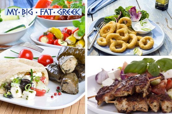 £19.95 instead of £39.90 for 2 full mezze platters, including marinated meats, fresh fish, traditional dips & salad at My Big Fat Greek – save 50%