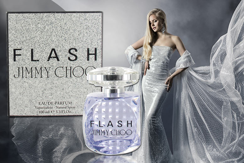 £29.99 instead of £72.01 for a 100ml bottle of Jimmy Choo Flash eau de parfum from Wowcher Direct - smell sensational and save 58%