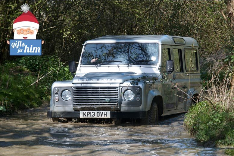 £63 instead of £155 for an off-road 4x4 driving experience for two with Experience the Country, Milton Keynes - save 59%