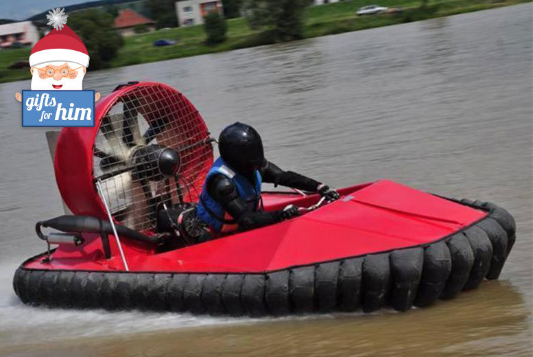 £29 instead of £79 for a hovercraft driving experience with Hoverdays, Shropshire - save 63%