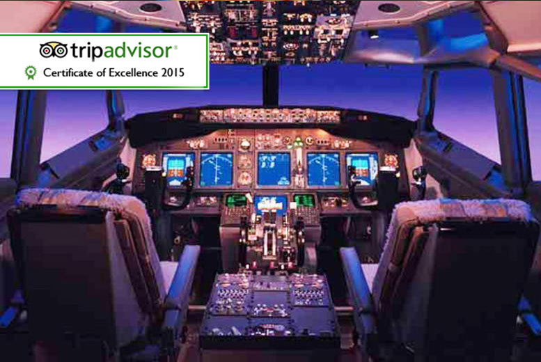 £59 instead of £125 for a flight simulation experience with Flight Simulators Midlands - save 53%