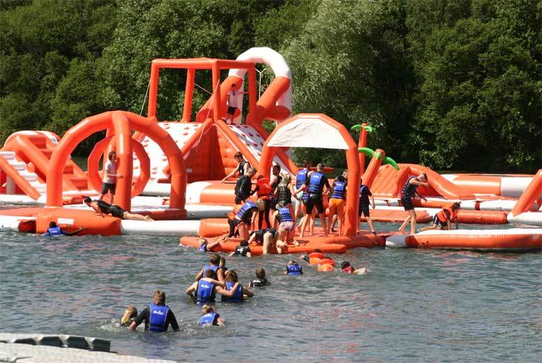 London: Lagoona Park Entry – Gigantic Inflatable Aqua Park! from £14