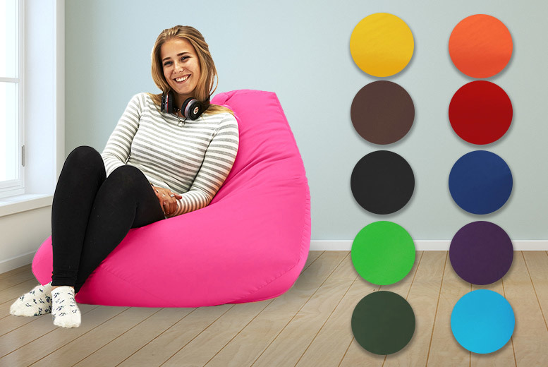 XL Highback Beanbag – 11 Colours! from £32