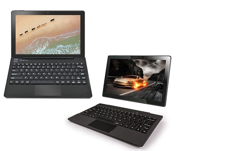 10.1″ 16GB 2-in-1 Quad Core Laptop & Tablet from £109