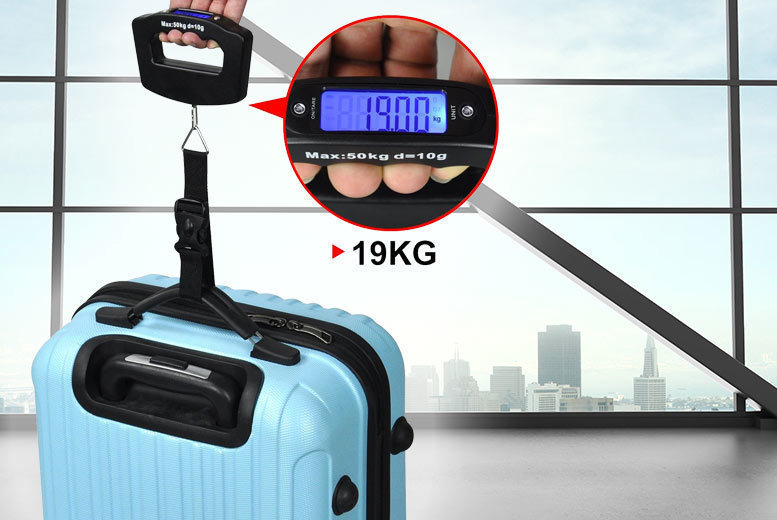 The Best Deal Guide - 50kg Digital Luggage Scale