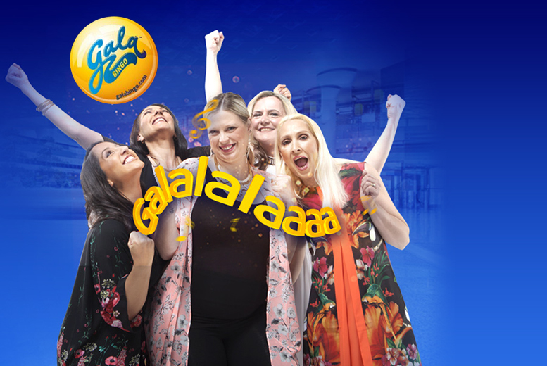 £5 for £45 Gala Bingo credit to spend online at GalaBingo.com - save 89%