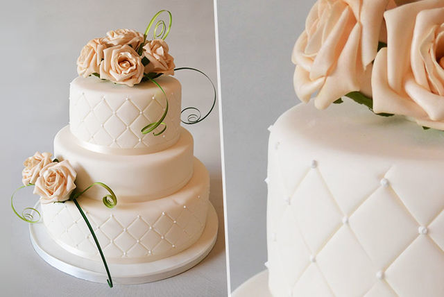 wedding cake deals london 3 or 4 tier pearl luxury wedding cake 22355