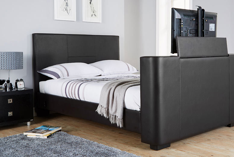 £349 (from Wowcher Direct) for a Las Vegas double electric TV bedstead, £379 for a kingsize bed or from £449 to include a memory foam mattress - save up to 65%