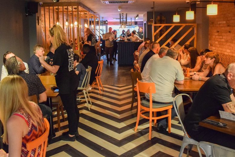 Sheffield: Lunch & Cocktails for 2 @ Fire Pit,Sheffield from £16
