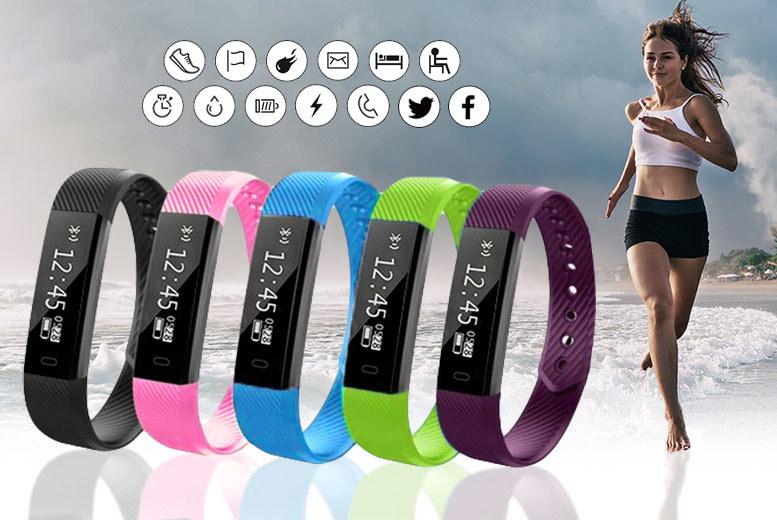 VeryFit 14-in-1 Fitness Tracker Bracelet from £14