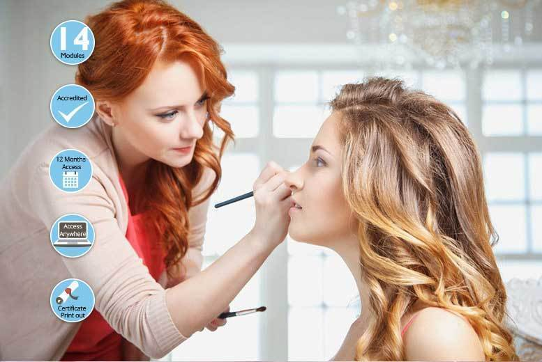 Accredited Makeup Artist Course from £16