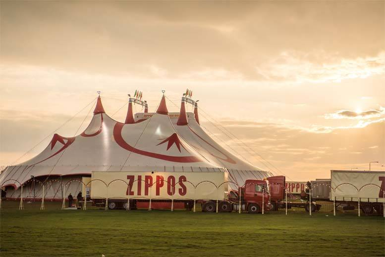 Bath: Zippos Circus Ticket & Bucket of Popcorn, Bath from £11