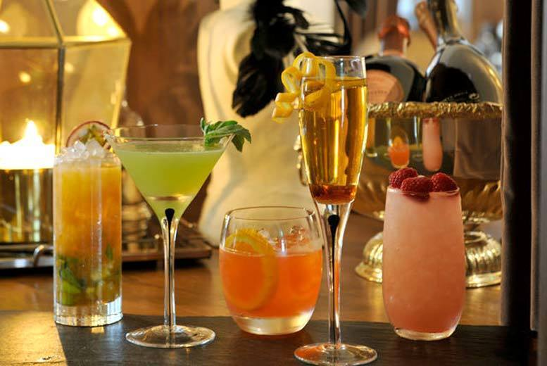 Glasgow: 4 Cocktails & Nibbles for 2 @ Citation, Merchant City from £14