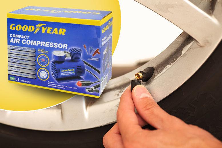 Goodyear Mini Air Compressor from £8