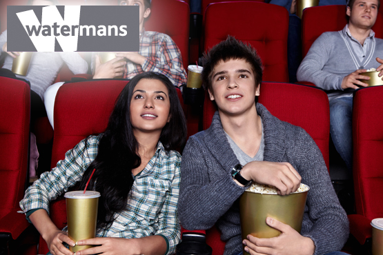 £15 instead of £30 for 2 cinema tickets plus a bottle of wine at Watermans, Brentford - experience cinema at its best and save 50%